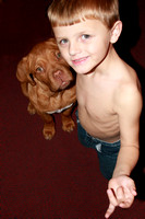 Christian and Grandpuppy